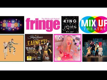 Mix Up Fringe Festival Camp - 12-18s