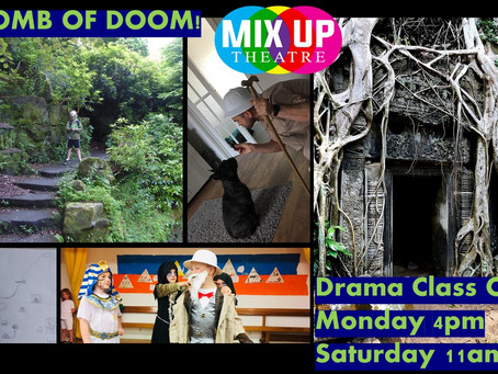 TOMB OF DOOM - Map Challenge + Snake Sock Puppet - #taskmastermixup