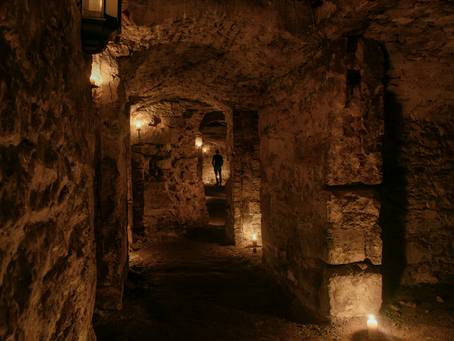 Theatre REVIEW: Ghostly Underground - Mercat Tours - ★★★★★