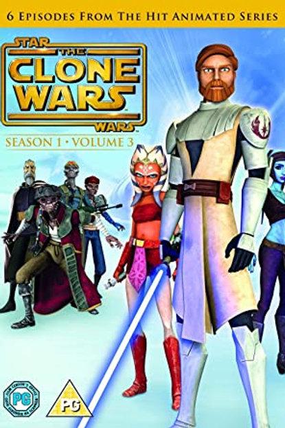 Star Wars: The Clone Wars - Season 1 Volume 3 DVD