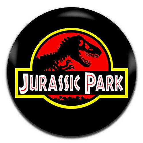 Jurassic Park Button Pin Badge