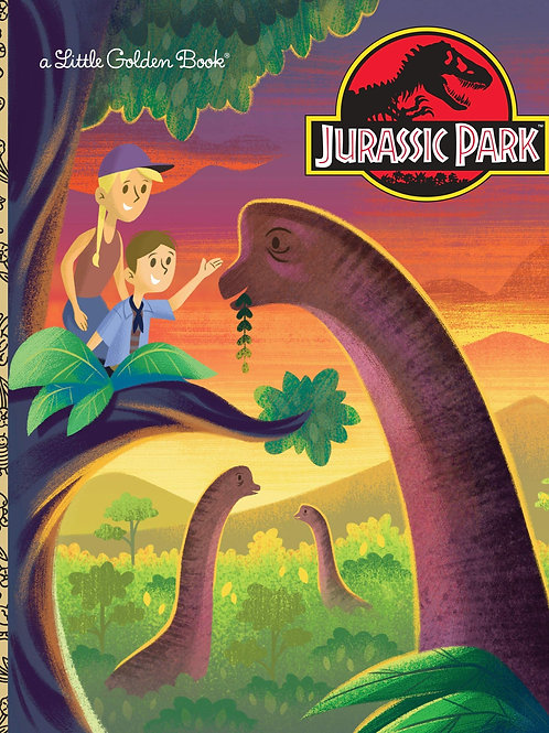 Jurassic Park (Little Golden Books) Hardcover
