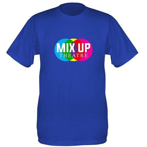 Mix Up Theatre T-Shirt - Royal Blue