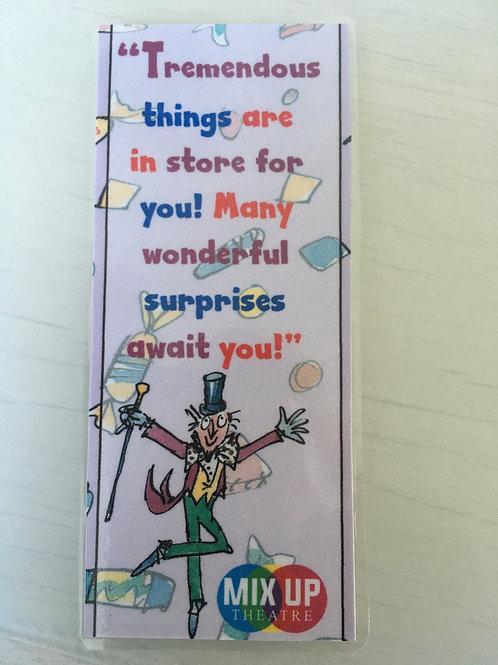 Mix Up Theatre / Roald Dahl Bookmark
