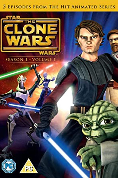 Star Wars: The Clone Wars - Season 1 Volume 1 DVD