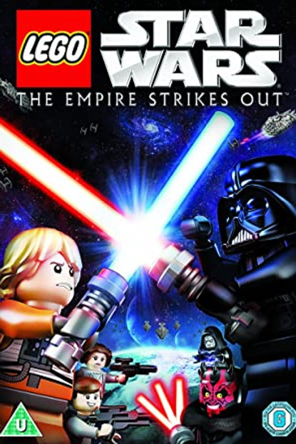 Lego Star Wars The Empire Strikes Out DVD