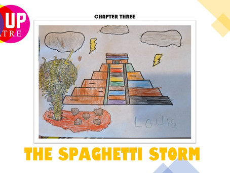 WATCH: Cloudy with a Chance of Meatballs - A Mix Up Theatre Film Chapter Three - THE SPAGHETTI STORM