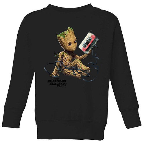Guardians of the Galaxy Groot Tape Jumper - Black
