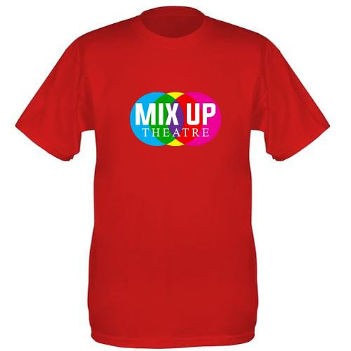 Mix Up Theatre T-Shirt - Red