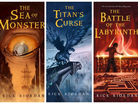 Book REVIEW: Percy Jackson Series- ★★★★★