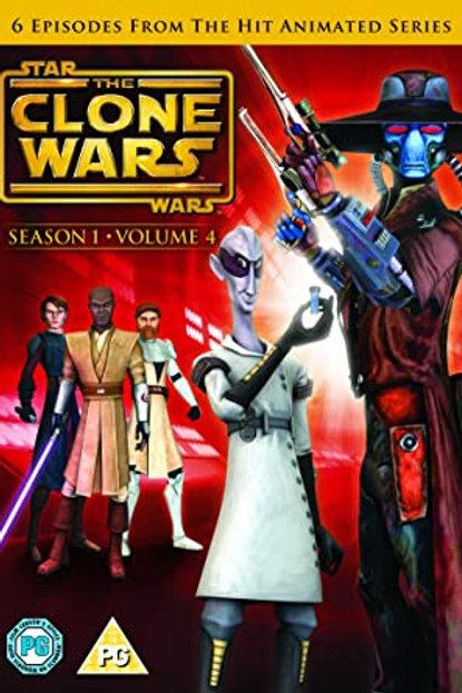 Star Wars: The Clone Wars - Season 1 Volume 4 DVD