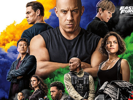 Film REVIEW: Fast & Furious 9 - ★★★★
