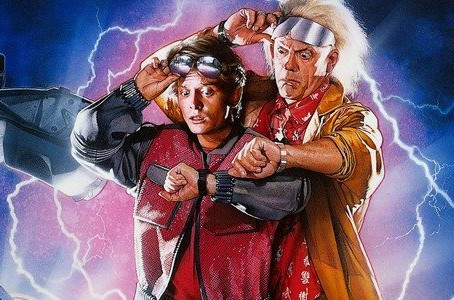 Back to the Future Scenes