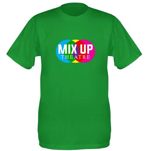 Mix Up Theatre T-Shirt - Green