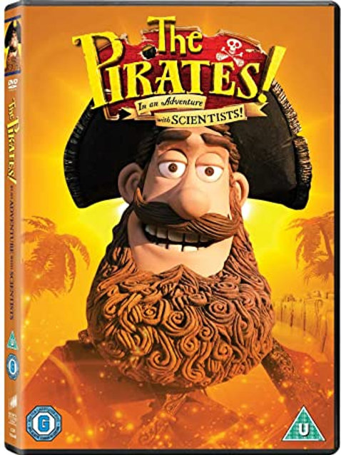 The Pirates! In an Adventure with Scientists DVD