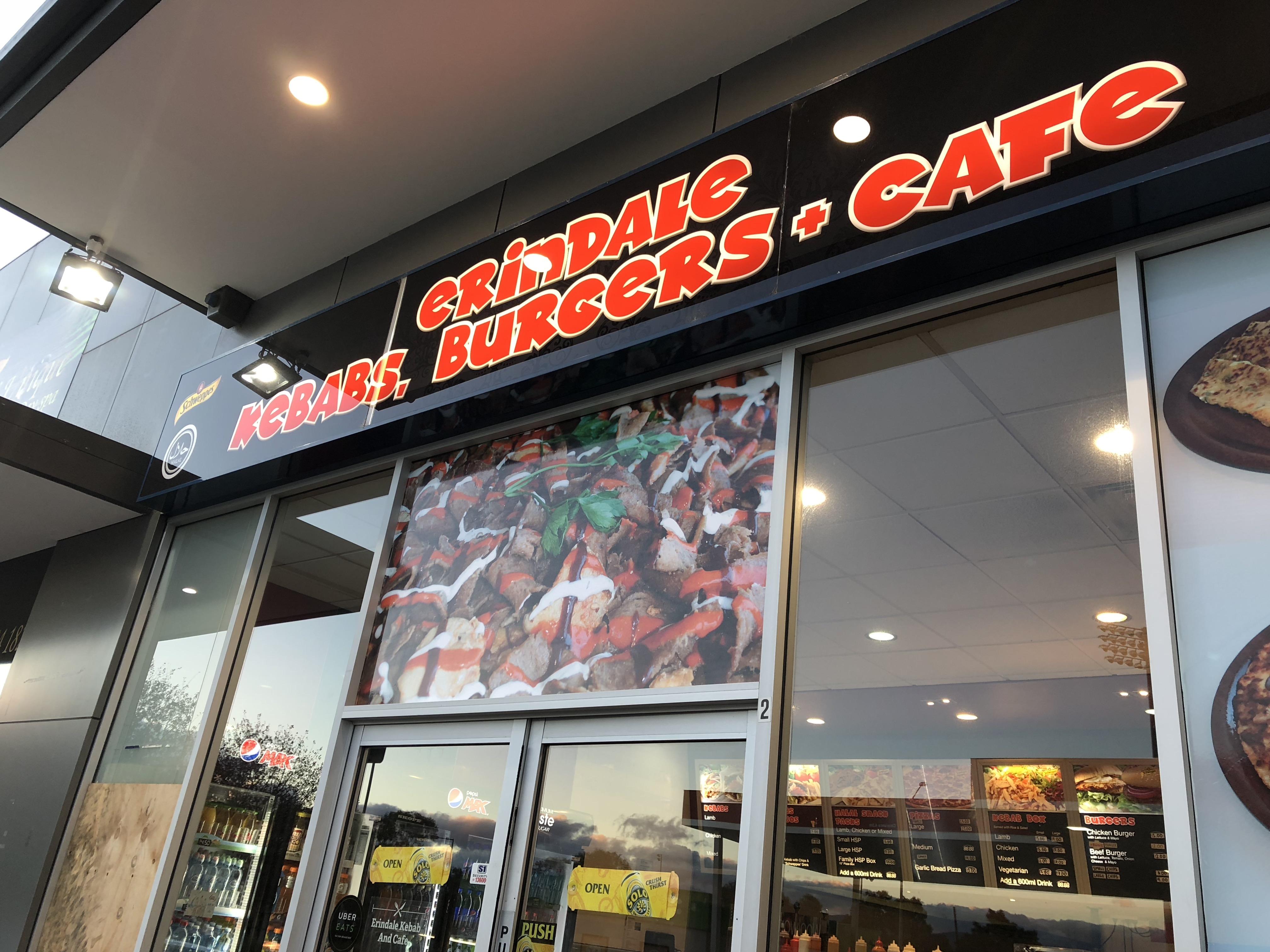 Erindale Kebabs Shop Front