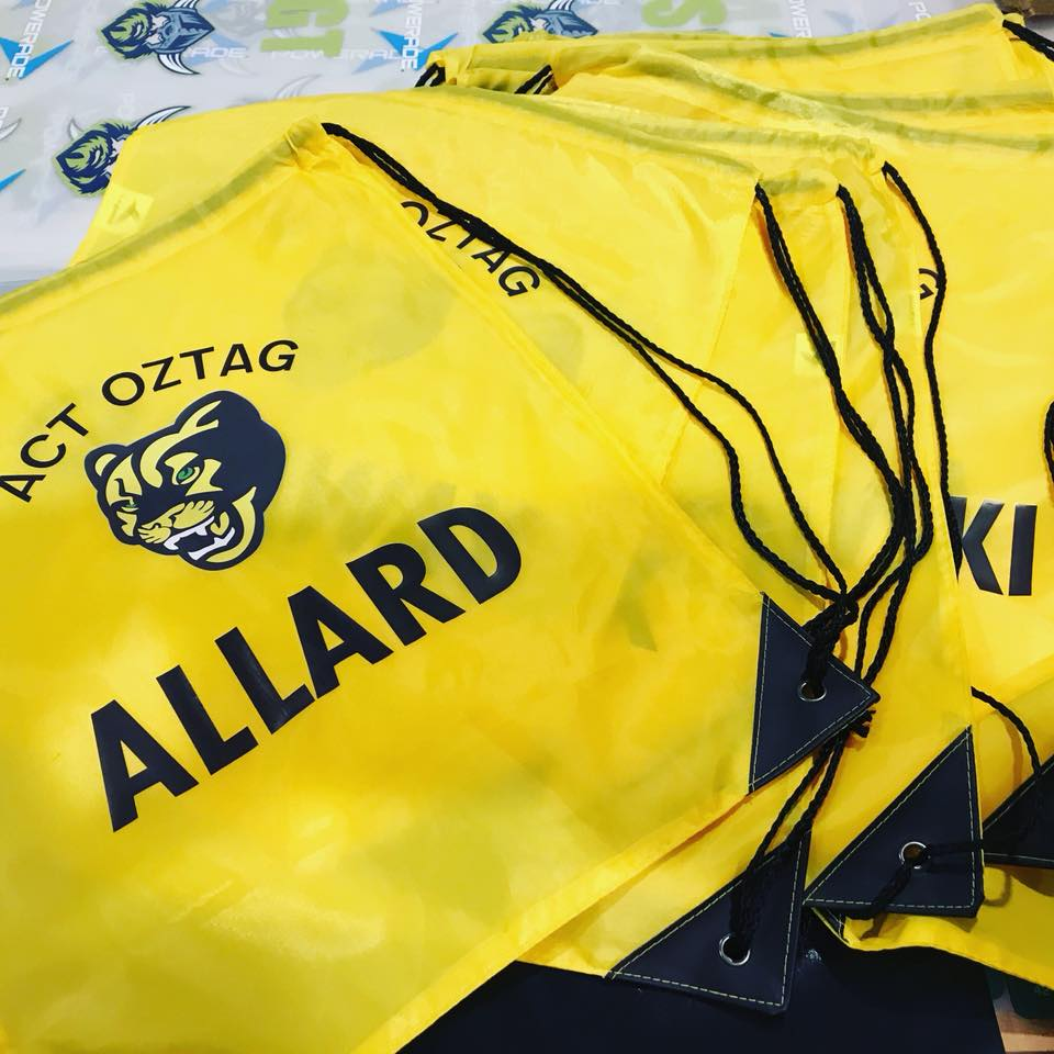 ACT Oztag String Bags