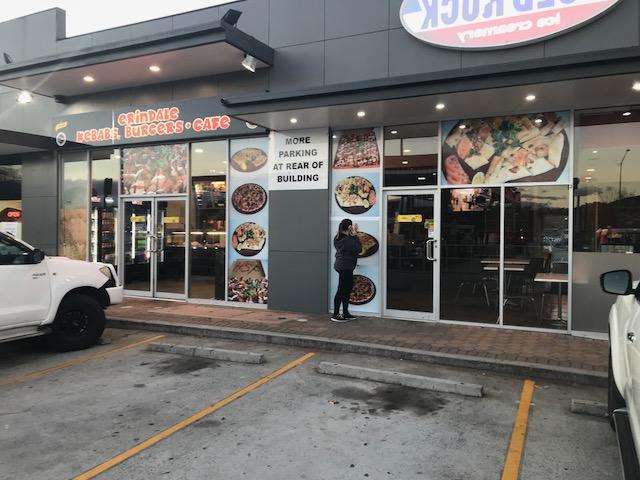 Erindale Kebabs Shop Front Signage