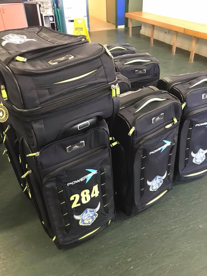 Canberra Raiders Travel Bag