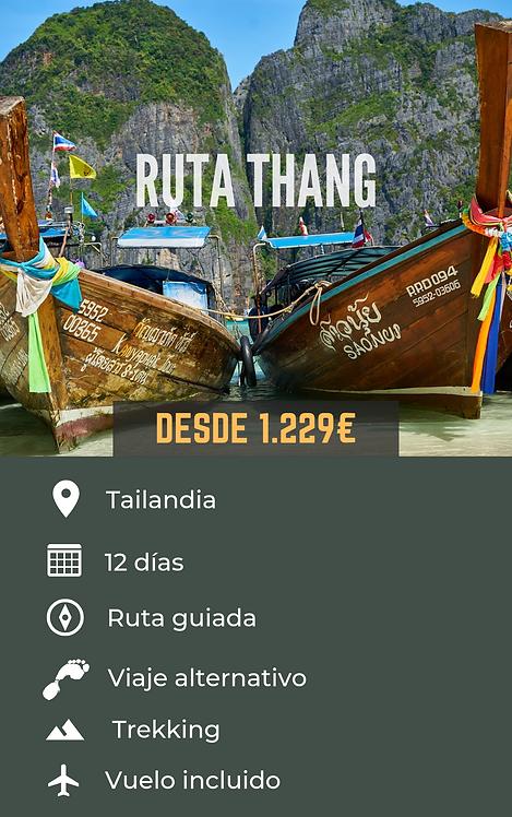 RUTA THANG - TAILANDIA