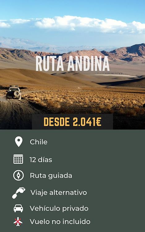 RUTA ANDINA - CHILE