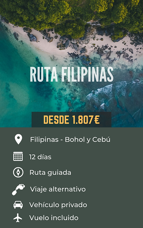 RUTA FILIPINAS -FILIPINAS
