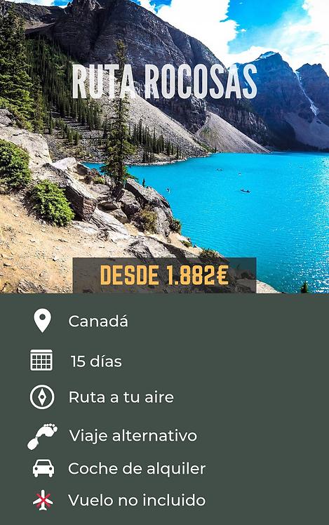 RUTA ROCOSAS - CANADÁ