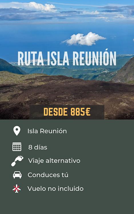 RUTA ISLA REUNIÓN - FRANCIA