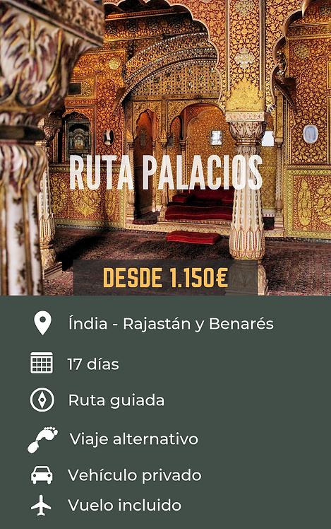 RUTA PALACIOS - INDIA