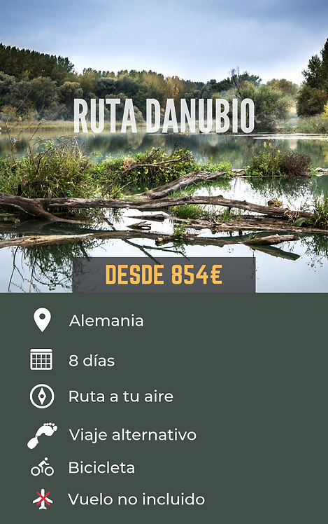 RUTA DANUBIO - ALEMANIA