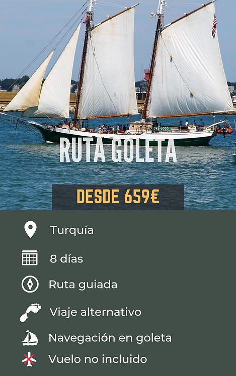 RUTA GOLETA - TURQUÍA