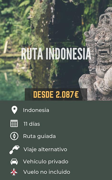 RUTA INDONESIA - INDONESIA
