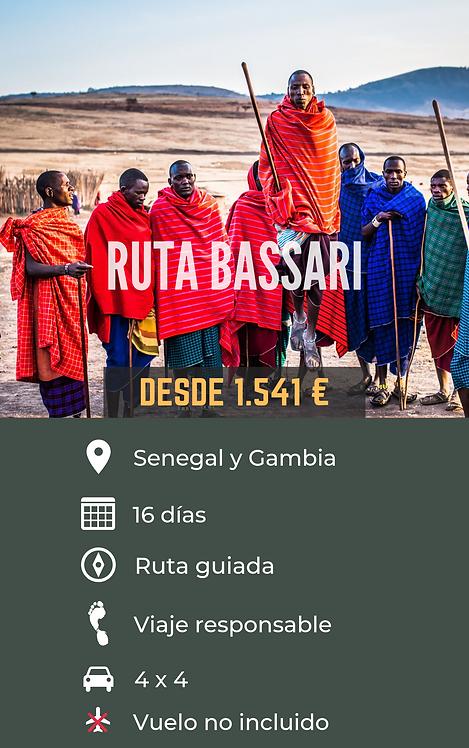 RUTA BASSARI - SENEGAL Y GAMBIA