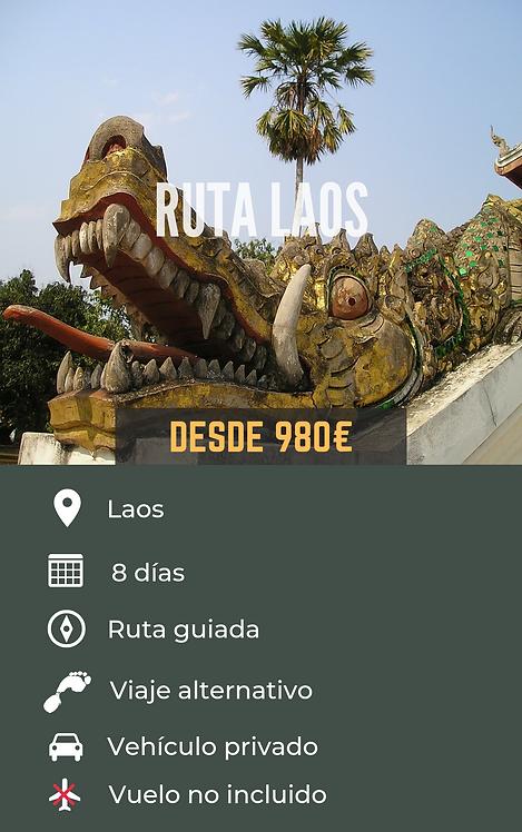 RUTA LAOS - LAOS