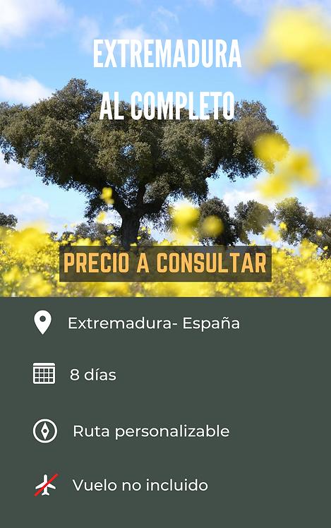 EXTREMADURA AL COMPLETO - ESPAÑA