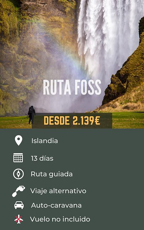 RUTA FOSS - ISLANDIA
