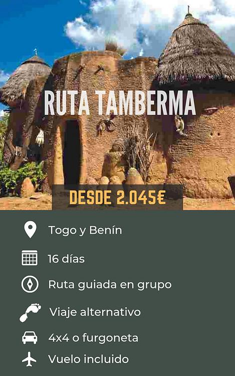 RUTA TAMBERMA - TOGO Y BENÍN