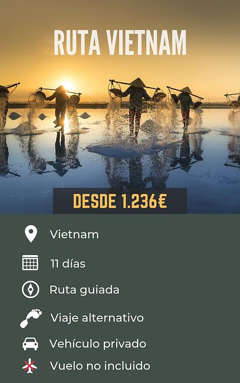 RUTA VIETNAM -VIETNAM