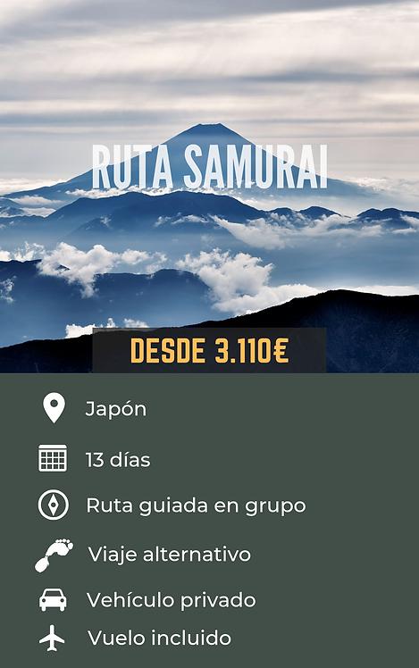 RUTA SAMURAI - JAPÓN