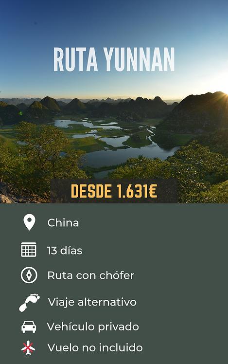 RUTA YUNNAN - CHINA