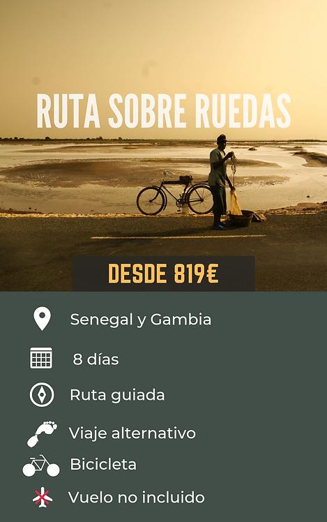 RUTA SOBRE RUEDAS - SENEGAL Y GAMBIA