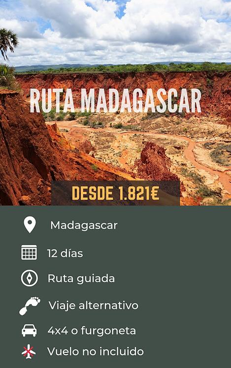 RUTA MADAGASCAR - MADAGASCAR