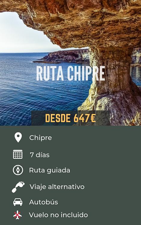 RUTA CHIPRE - CHIPRE
