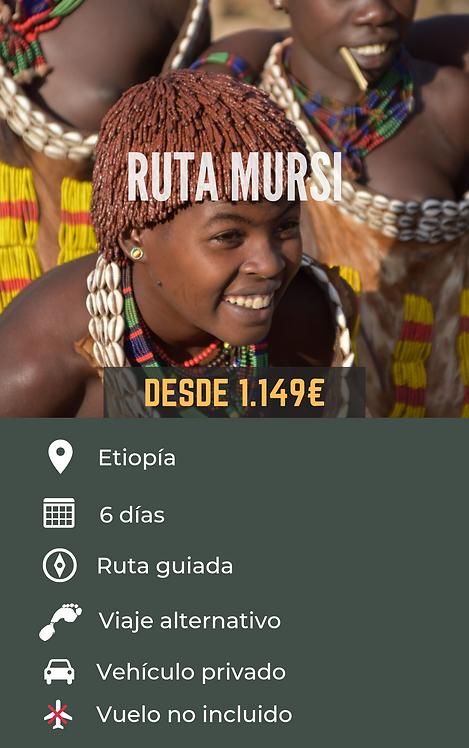 RUTA MURSI - ETIOPÍA