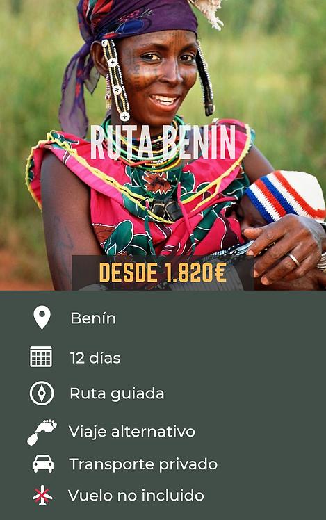 RUTA BENÍN - BENÍN