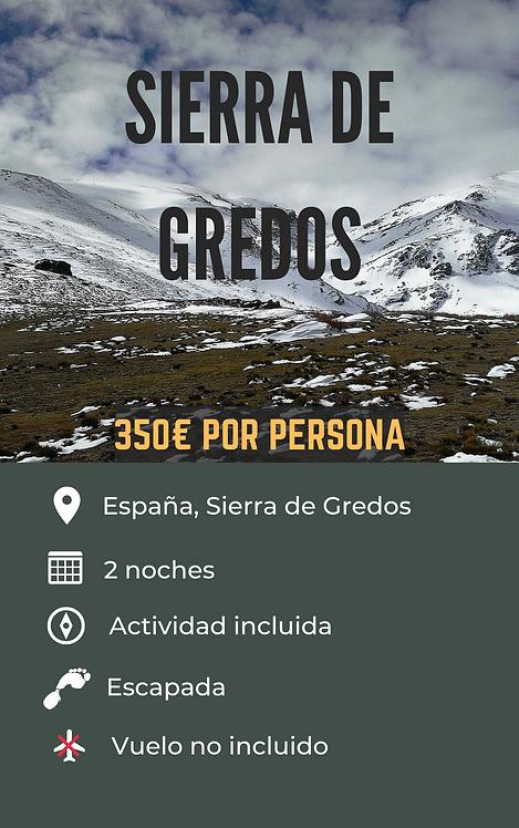 SIERRA DE GREDOS-ESPAÑA