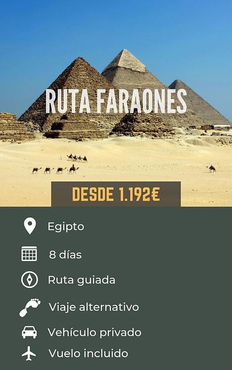RUTA FARAONES - EGIPTO
