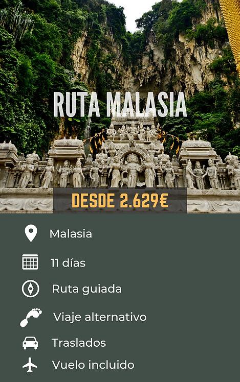 RUTA MALASIA - MALASIA