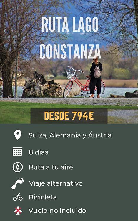 RUTA LAGO CONSTANZA - ALEMANIA, SUIZA Y AUSTRIA