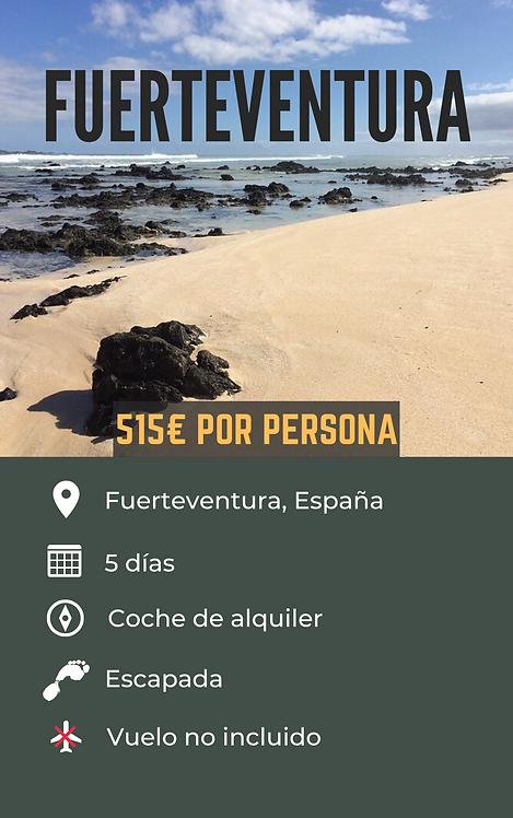 FUERTEVENTURA - ESPAÑA